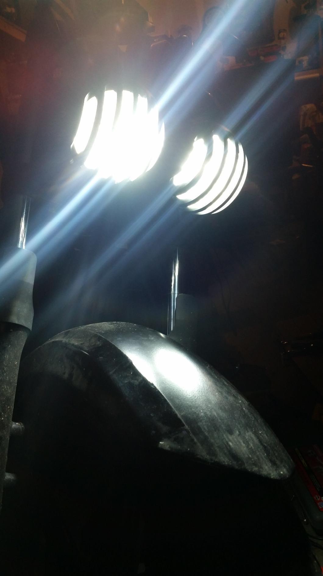 GPPOWER 2PCS 9006 HB4 4 Side COB led Headlights