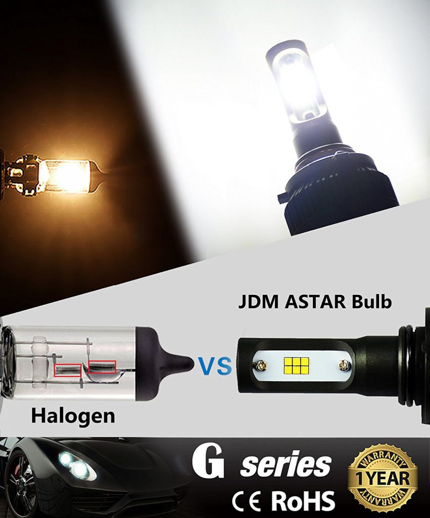 JDM ASTAR G2 9006 CSP LED Headlight Conversion Kit