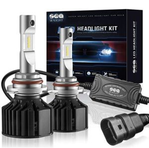 SEALIGHT X2 9006/HB4 LED Headlight Conversion Kit