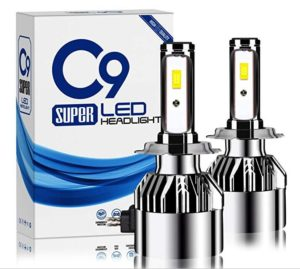 Treedeng 9006 LED Headlight Bulbs All-in-One Conversion Kit