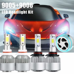 9005 and 9006 Combo LED Car Headlight With COB Chips
